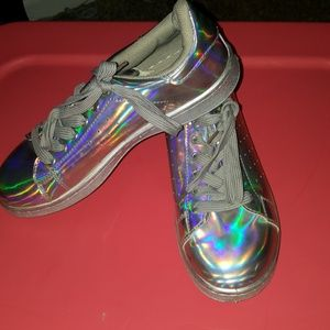 Gorgeous Holographic Shoes